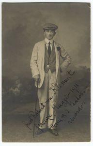 Fotografija Roberta von Klementa s posvetom A. G. Matošu