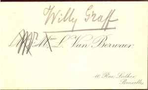 Willy Graff M. L. Van Berivaer