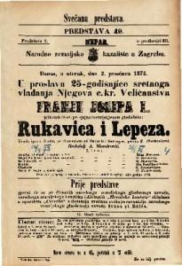 Rukavica i Lepeza Vesela igra u 3 čina / po francezkom od Bayarda i Sauvagea