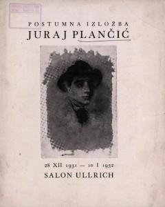 Postumna izložba Juraj Plančić