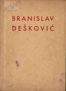Posmrtna izložba Branislava Deškovića