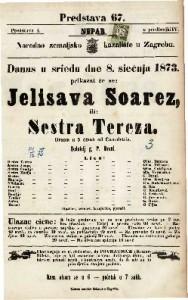 Jelisava Soarez ili Sestra Tereza Drama u 5 činah / od Camolettia