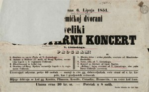 Veliki orkestarni koncert V. Lisinskoga
