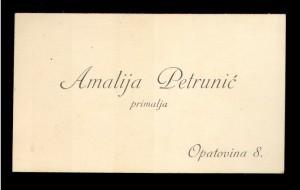 Amalija Petrunić primalja
