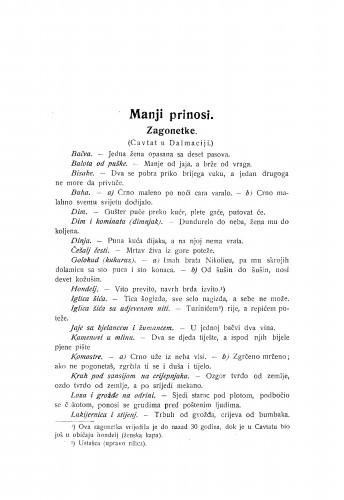 Zagonetke : (Cavtat u Dalmaciji.) / P. Bogdan-Bijelić