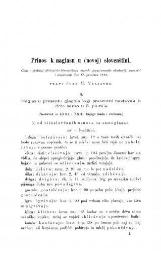 Prinos k naglasu u (novoj)slovenštini