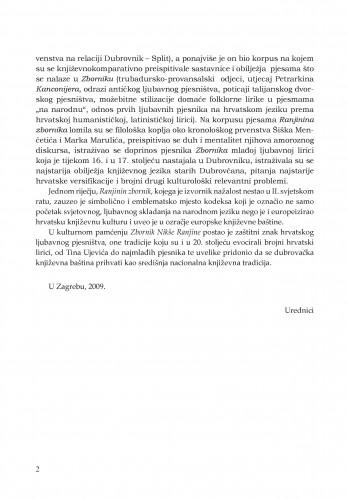 Pozdravna riječ predsjednika Hrvatske akademije znanosti i umjetnosti  Milana Moguša prigodom otvaranja znanstvenog skupa o Zborniku Nikše Ranjine, 21. studenoga 2007. godine u Akademijinoj palači u Zagrebu