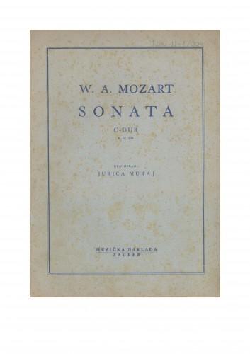 Sonata C-dur : K. V. 330 : Ostavština Jurica Murai