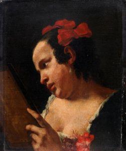Djevojka s ogledalom