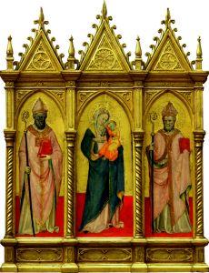 Bogorodica s Djetetom i svetima Ambrozijem i Augustinom
