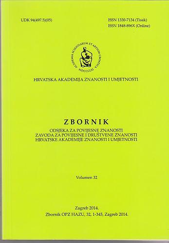 Zbornik Odsjeka za povijesne znanosti Zavoda za povijesne i društvene znanosti Hrvatske akademije znanosti i umjetnosti