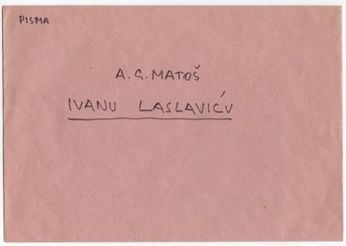 Korespondencija upućena Ivanu Laslaviću
