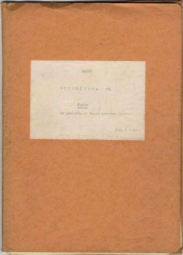 Bilježnica V.