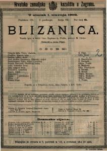 Blizanica vesela igra u četiri čina / napisao L. Fulda