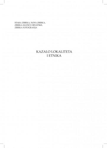 Kazalo lokaliteta i etnika