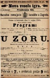 U zoru Vesela igra u 1 činu / napisali Siraudin i Delacour