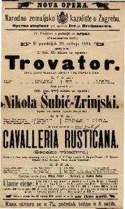 Trovator I. čin II. slika iz opere / Uglasbio J- Verdi