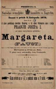 Margareta : opera u 5 činah / glasba od T. Gounoda
