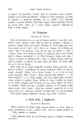 Vrhgorac ; Otok Krk, i kajkavci : vještice : Zbornik za narodni život i običaje