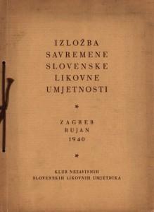 Izložba savremene slovenske likovne umjetnosti