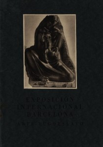 Exposicion international Barcelona, 1929.
