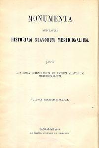 Knj. 2 : Od godine 1537. do godine 1556. Dodatak: 1526.-1539. : Monumenta spectantia historiam Slavorum meridionalium