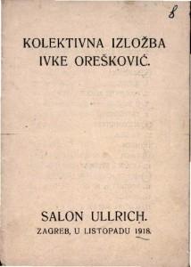 Kolektivna izložba Ivke Orešković