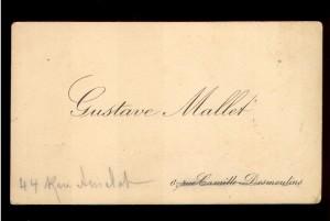 Gustave Mallet