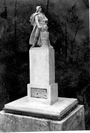 Skica za spomenik kralju Aleksandru na Sušaku