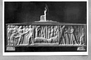 Augustinčić, Antun (1900-1979) : Sarkofag blažene Ozane Kotorske