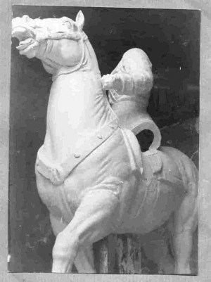 Model spomenika Jozefu Pilsudskom