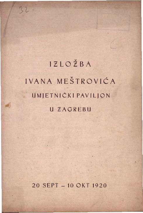 Izložba Ivana Meštrovića