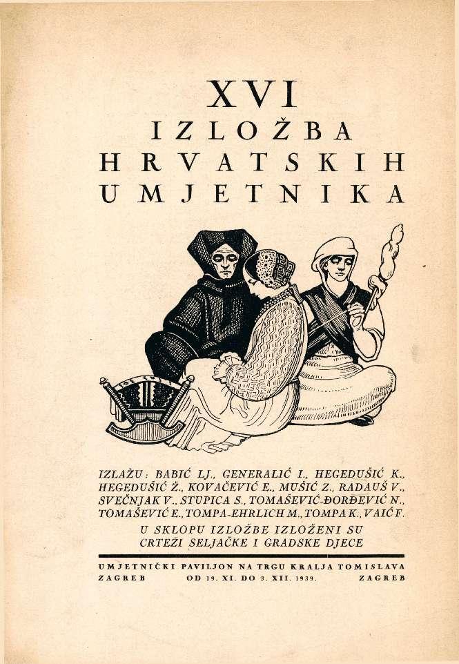 XVI izložba hrvatskih umjetnika
