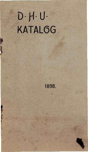 D.H.U. katalog