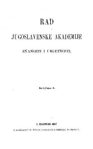 Knj. 1(1867) : RAD