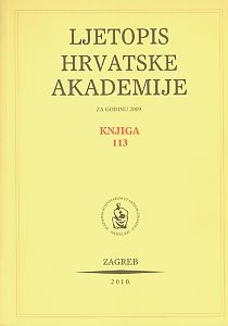 2009. Knj. 113 : Ljetopis