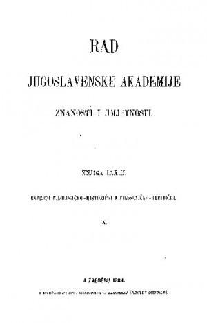 Knj. 9(1884) : RAD