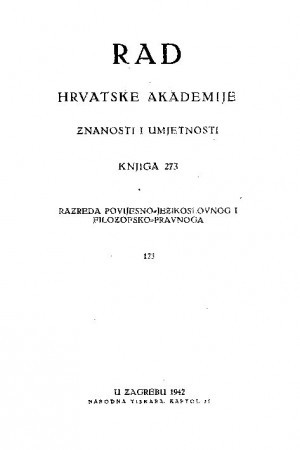 Knj. 123 [124!](1942) : RAD