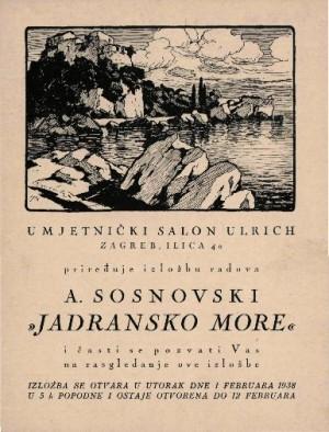 A. Sosnovski Jadransko more