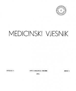 Sv. 6, br. 1 : Medicinski vjesnik