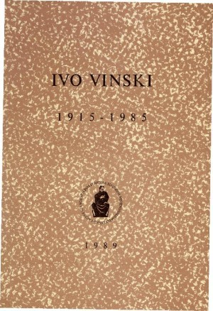Ivo Vinski : 1915-1985 : Spomenica preminulim akademicima