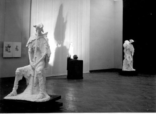 Radauš, Vanja (1906-1975) : Tifusari - postav izložbe [Buzjak, Ivan  ]