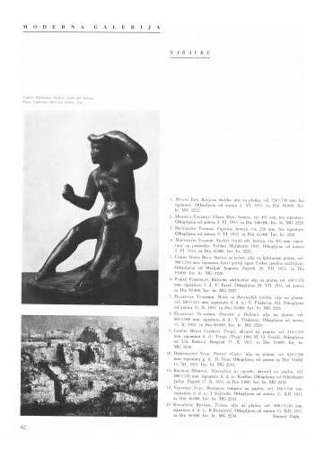 Moderna galerija : Bulletin Instituta za likovne umjetnosti Jugoslavenske akademije znanosti i umjetnosti