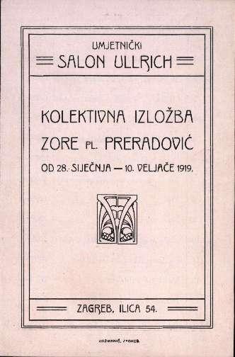 Kolektivna izložba Zore pl. Preradović