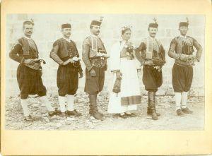 ''Lipo ti je pogledati kad svatovi s kitom jedre'' [Radić, Antun (1868-1919) ]