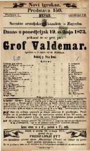 Grof Valdemar Igrokaz u 5 činah / od G. Freitaga