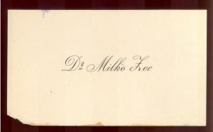 Dr Milko Zec