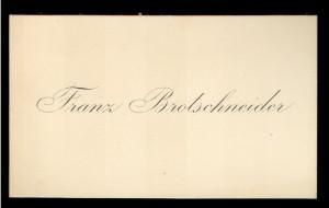 Franz Brotschneider