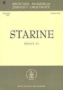 Knj. 62 (2004) : Starine