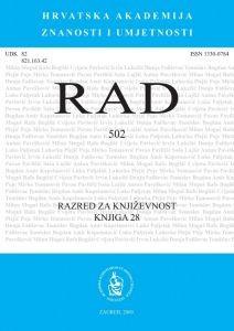 Knj. 28(2009) : RAD